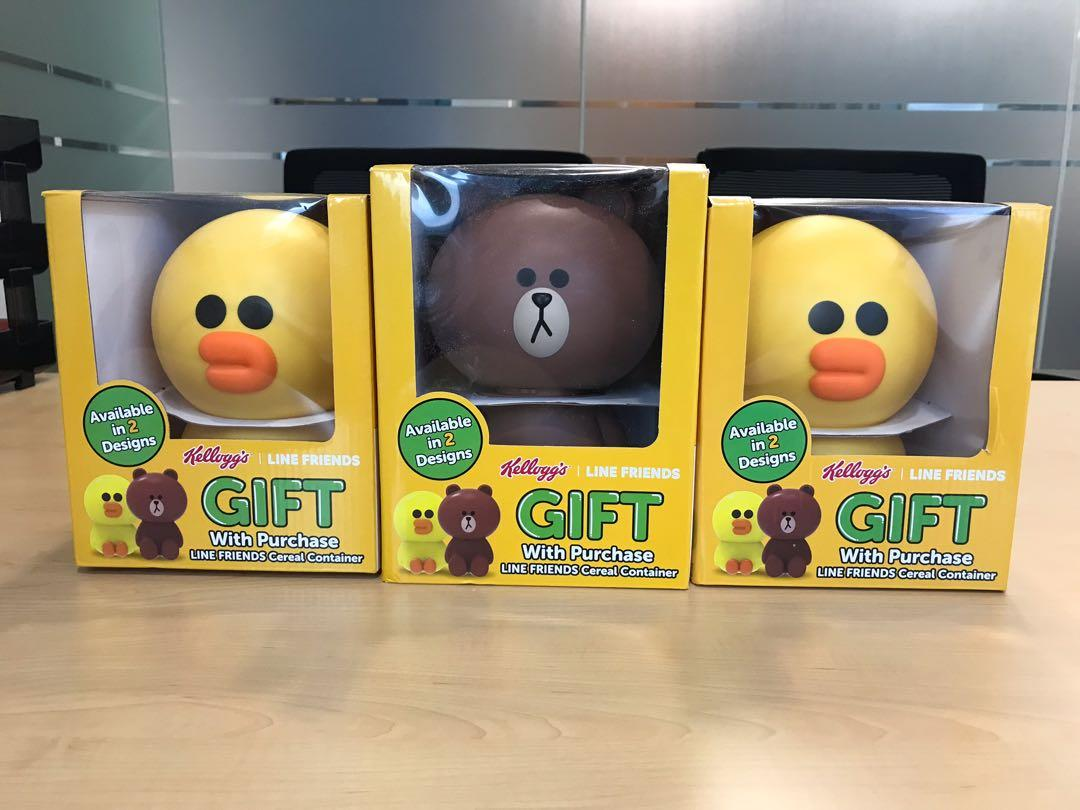 LINE FRIENDS Cereal Container