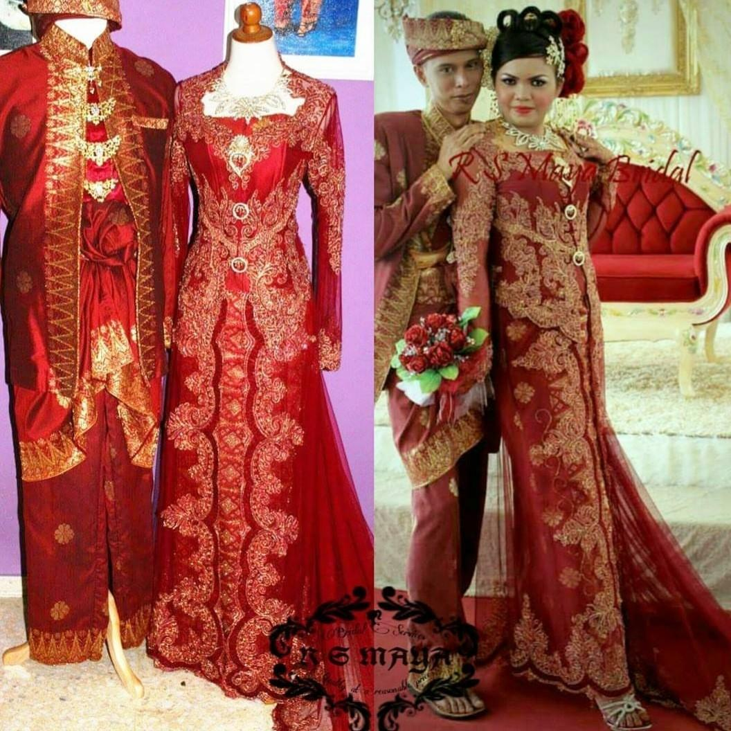 Malay Bridal Outfits / Baju Pengantin / Baju Kawin / Mak Andam