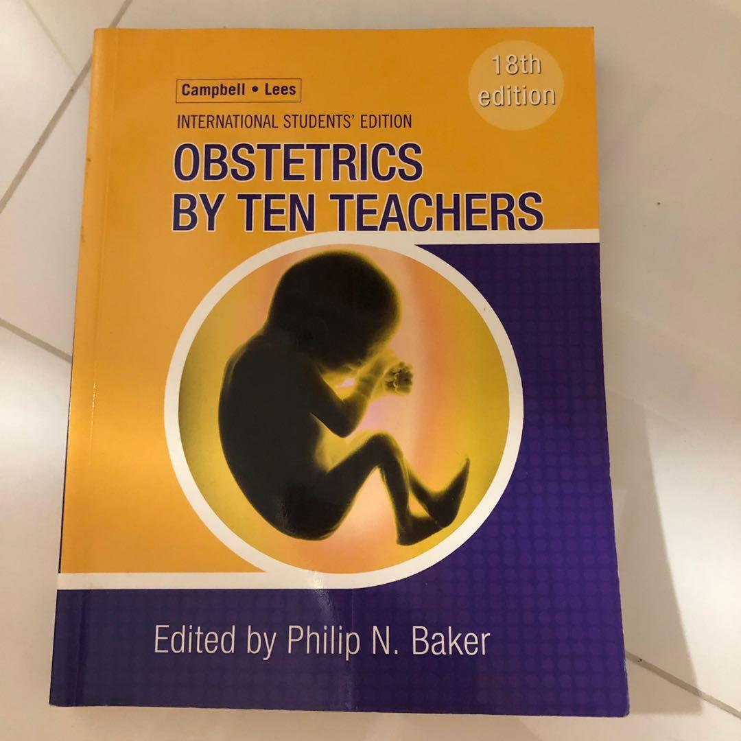Medical textbook obstetrician and gynecology, Books