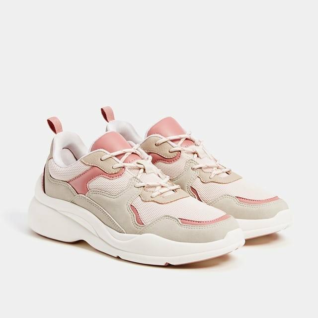 lowest price low cost outlet boutique Original Bershka Platform Trainers, Women's Fashion, Women's Shoes ...