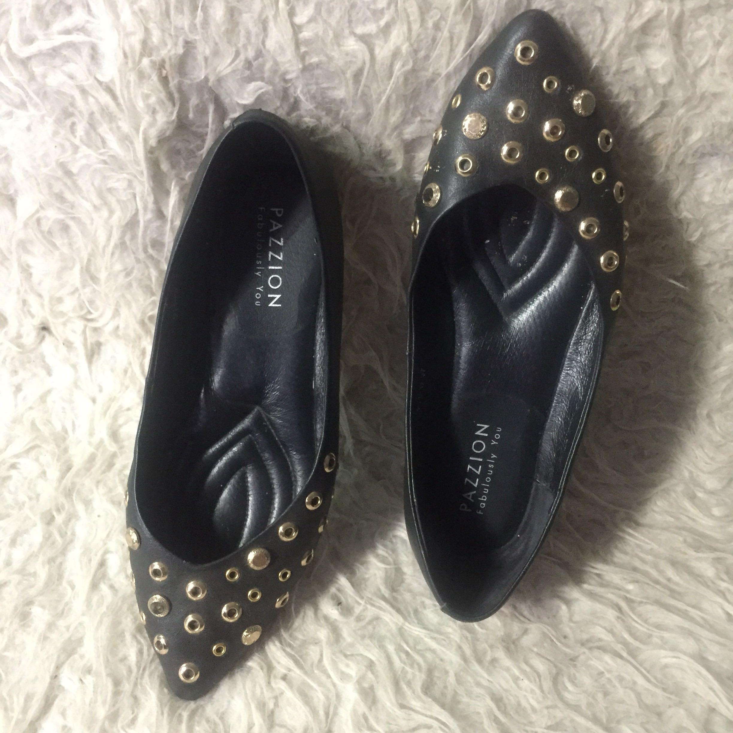 Pazzion leather size 38