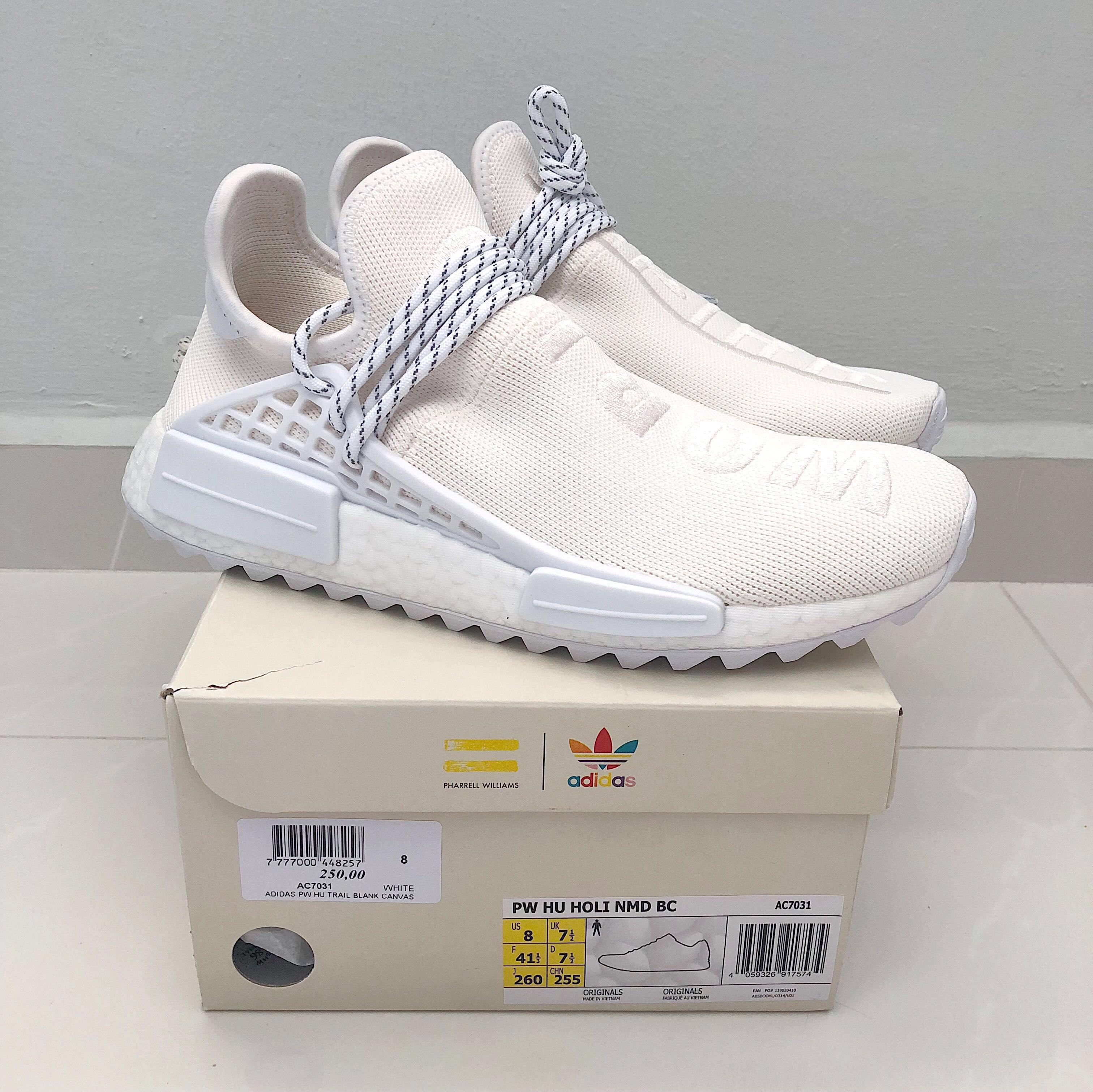 e74d62351 Pharrell Williams x Adidas NMD Hu Holi  Blank Canvas