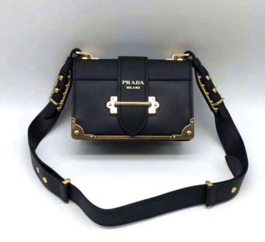 38cc09e9edf22 Prada cahier bag  SALE