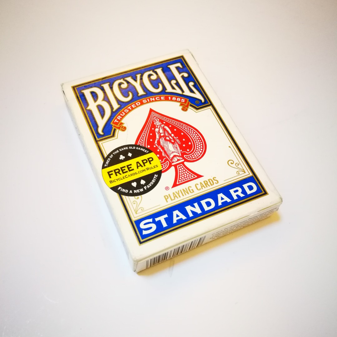 SALE PRE💙D Bicycle Standard Index Playing Cards
