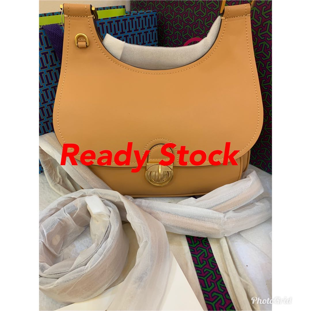 b8651831f180 Ready stock authentic Tory Burch James saddle bag