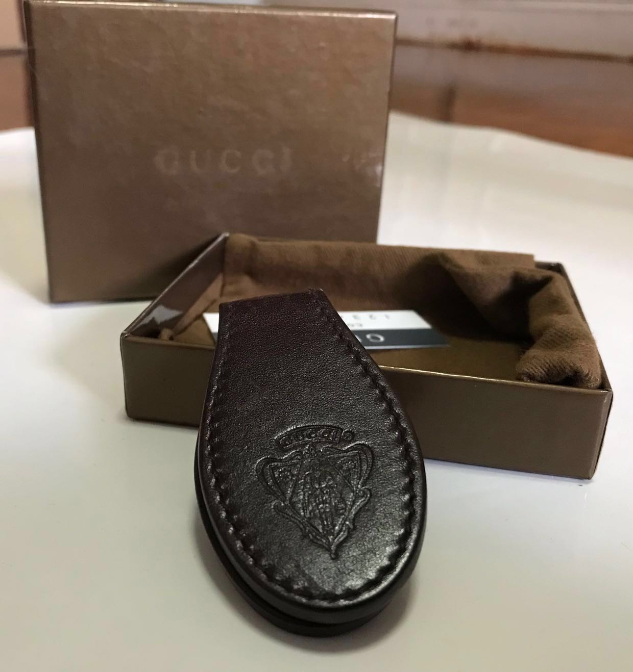 8870cb1f1f440e REDUCED - Gucci money clip - Genuine leather, Luxury, Accessories ...