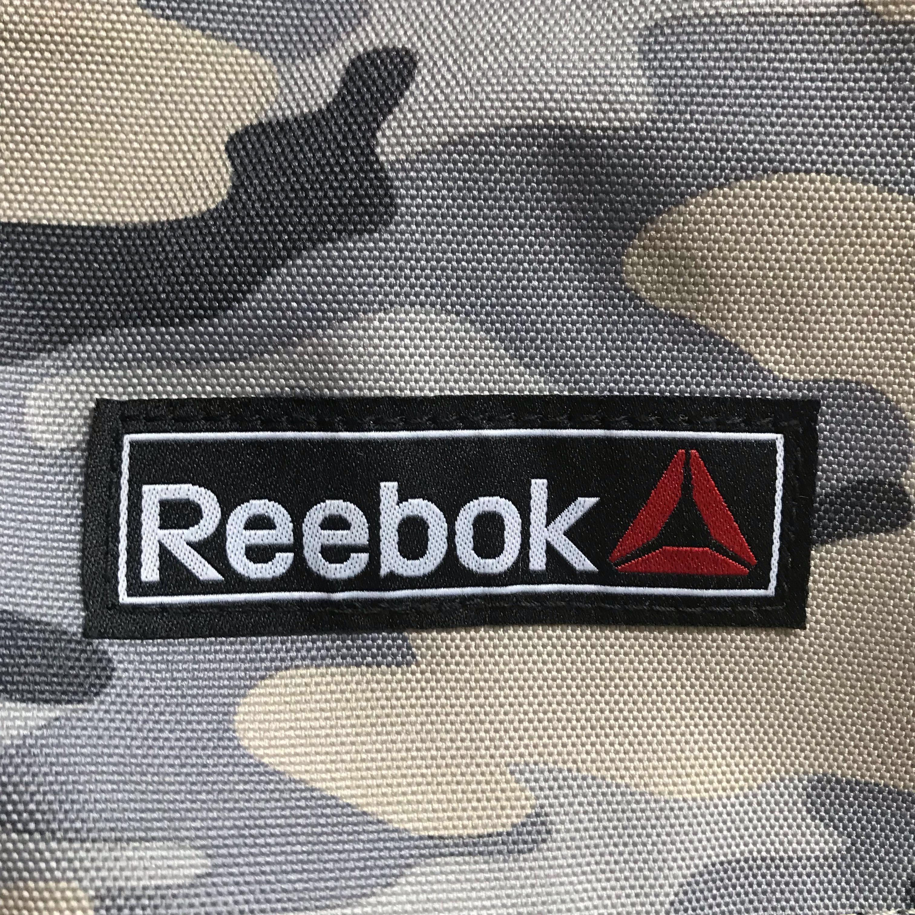 Reebok camouflage backpack 潮牌運動迷彩背囊背包 名牌書包