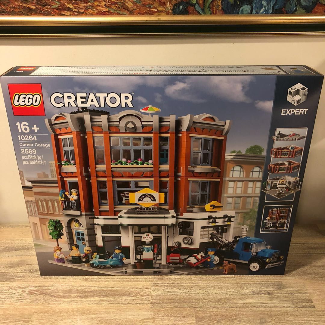 Lego Creator Expert coin Garage Set 10264 Brand New in
