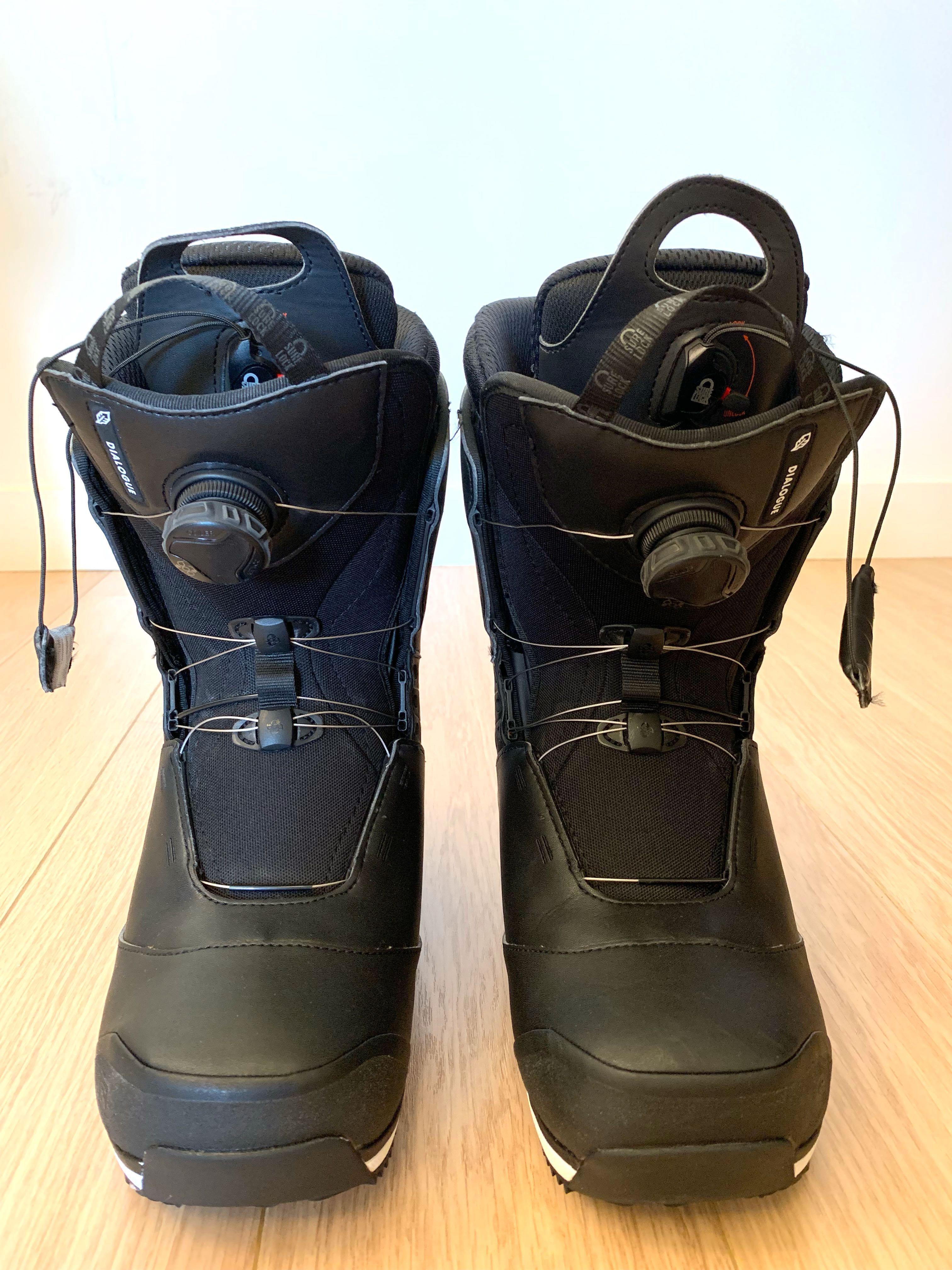 énorme réduction e210f 59020 Salomon Dialogue Focus BOA Snowboard Boot / US9