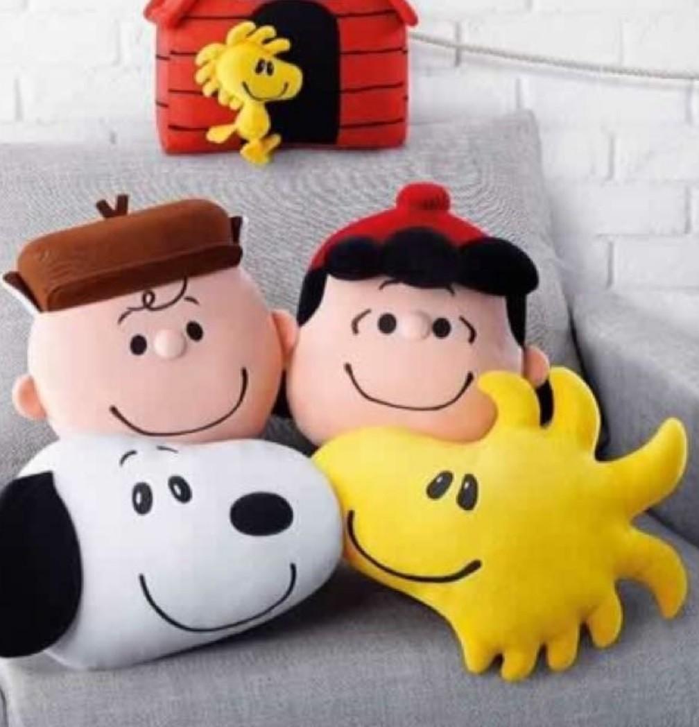 Snoopy 公仔 一套 麥當勞 史路比 Cushion 咭𠱸 McDonald's McDonalds 必買 可愛 毛公仔