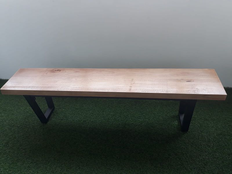 Solid Wood Bench 150cm