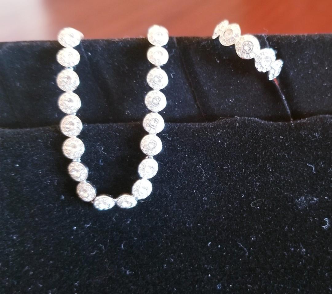 Swarovski Bracelet and Ring Set - Valentine's Duo