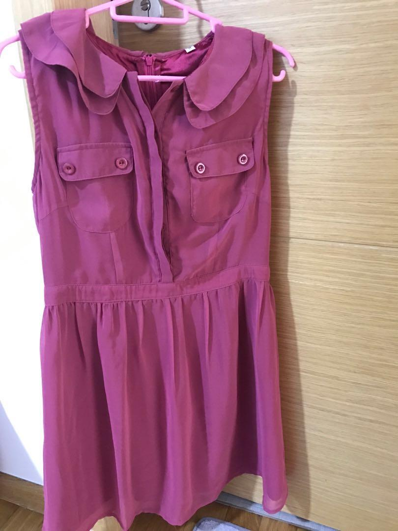 To bless- Free Pink dress for 155cm