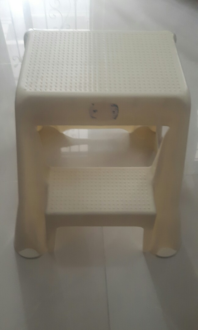 Two step ladder stool