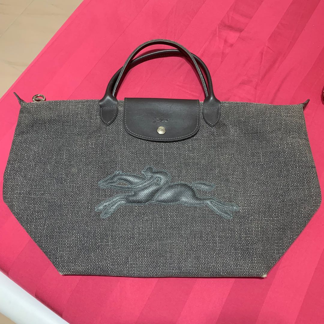 Used Longchamp Top Handle 3a432f808cfba