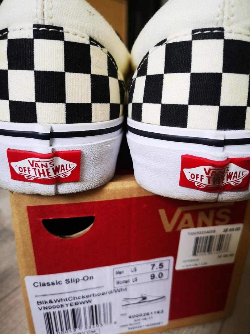 Vans Checkerboard Slip On