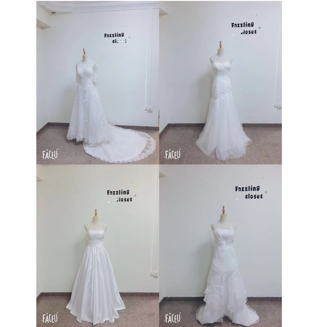wedding gowns for clearance