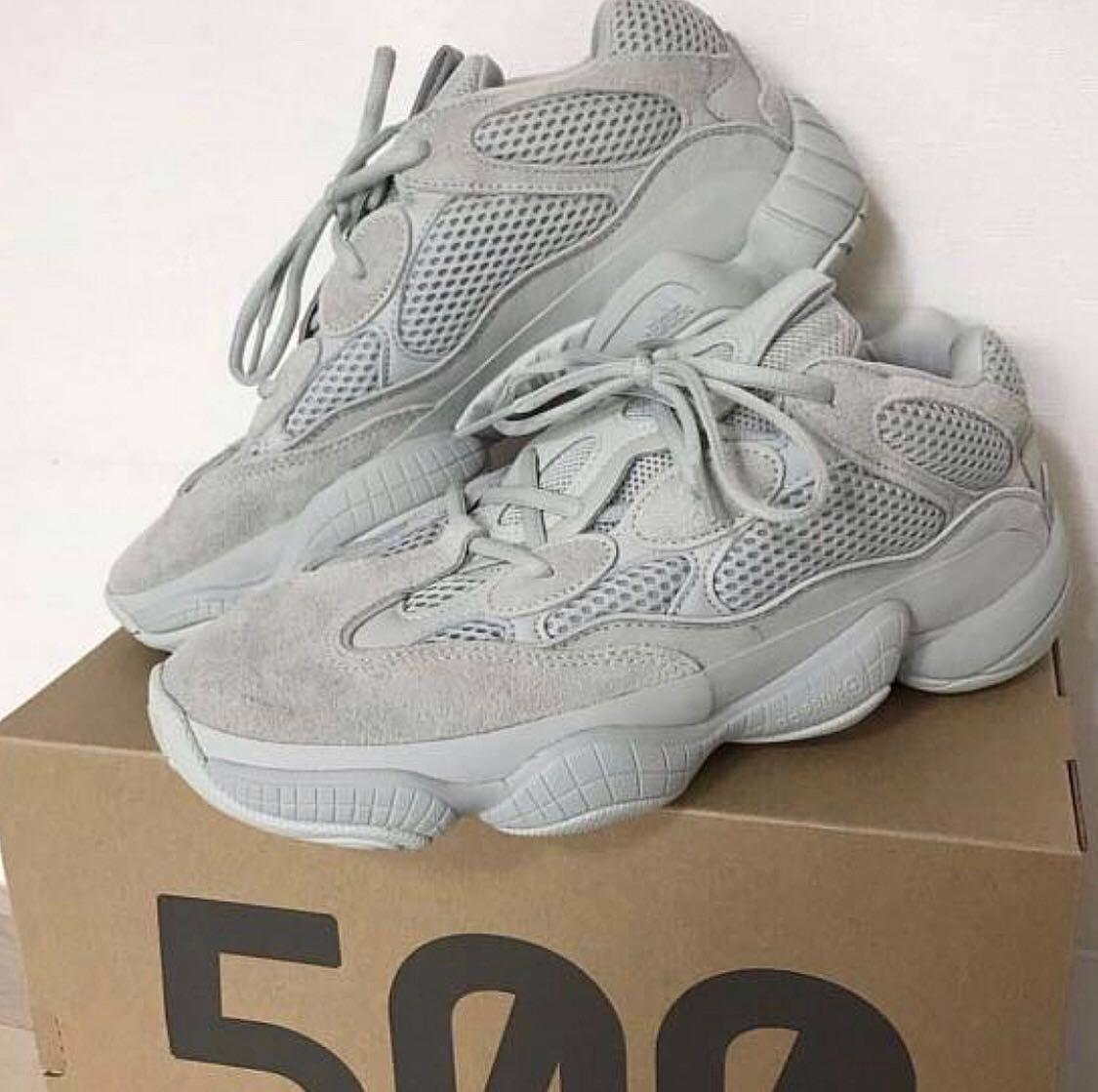brand new 33aca 8fa0c WTS / WTT ADIDAS YEEZY BOOST 500 - SALT, Men's Fashion ...