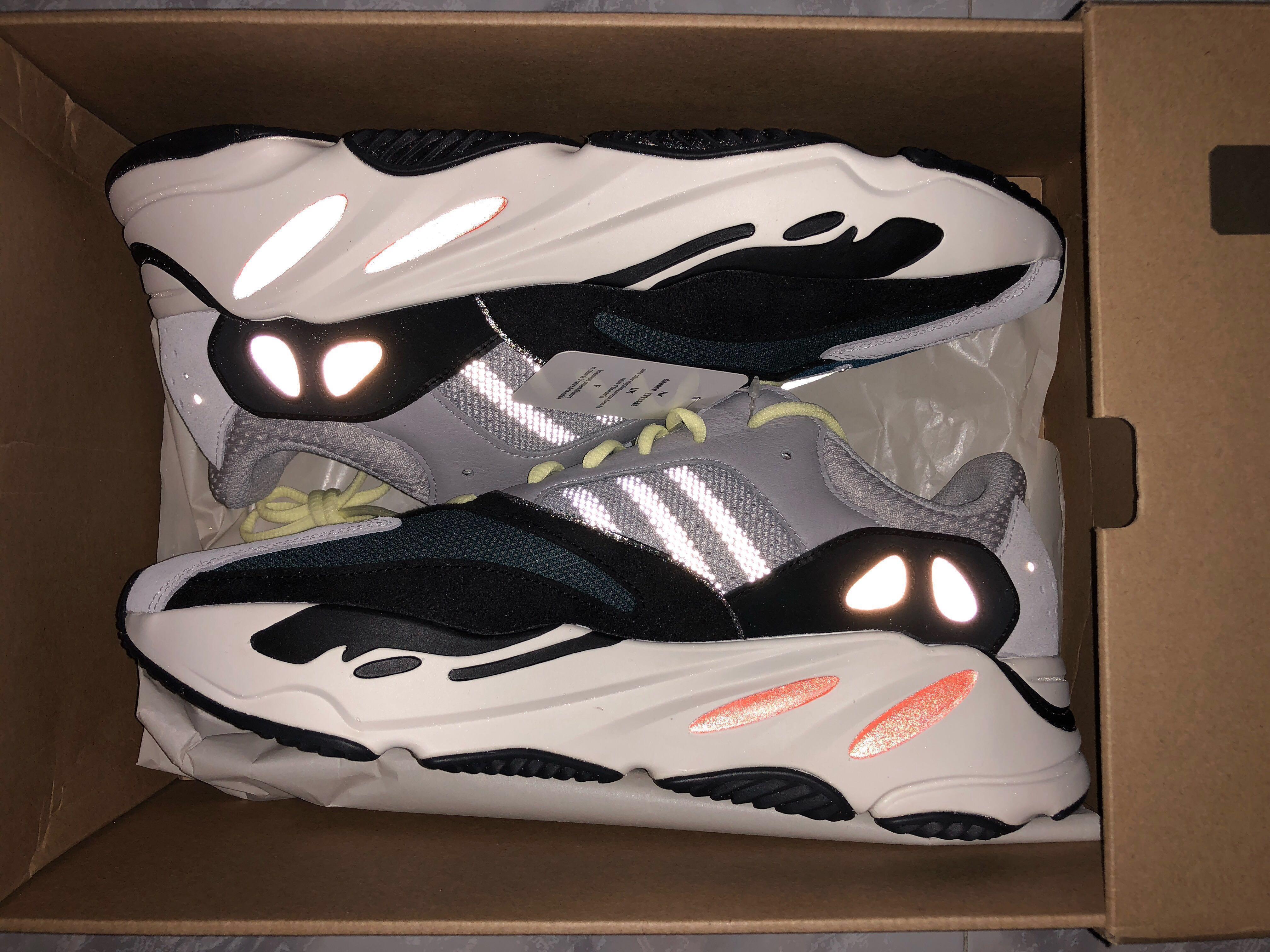 online store 8f01c 268c2 Yeezy Boost 700 Wave Runner US 12, Men's Fashion, Footwear ...