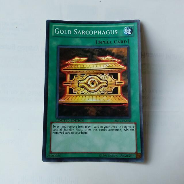 Yugioh - Gold Sarcophagus Super Rare