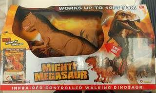 無線搖控恐龍玩具 DRAGON-I-InfraRed Controlled Walking T-Rex