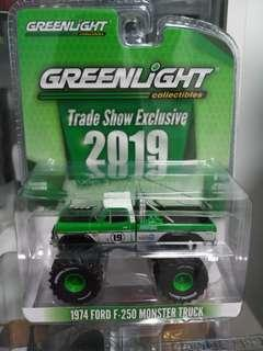Greenlight Collectibles 92019 Trade Show Exclusive 1974 Ford F-250 Monster Truck