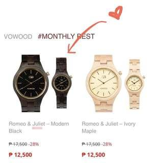 Name your REASONABLE PRICE!! Brandnew Vowood Luxury Watch