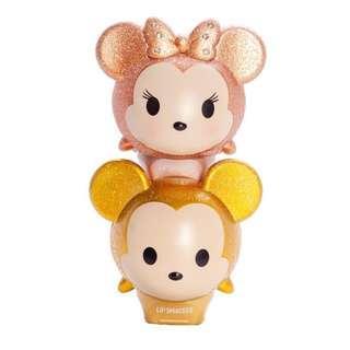 🚚 BN Lip Smacker Disney Glitter Rose Gold Tsum Mickey & Minnie Limited Edition