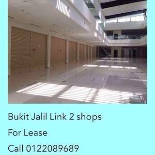 Bukit Jalil the link 2 shops for RENT