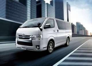 LATEST NEW HIACE FOR SALE