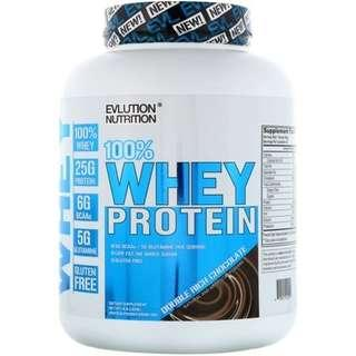 💥CHEAPEST💥 Whey Protein, Vanilla, EVLution Nutrition 4  lb