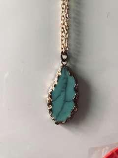 Stone Turquoise Necklace