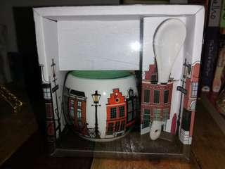 Amsterdam Mini Tea set Souvenir