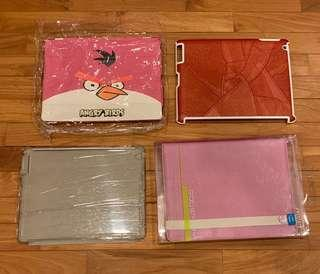🚚 Angry Birds / Brown Leather / Transparent / Pink Goosperry Ipad Cases