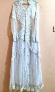 #CNY2019 SALE Wedding gown/Gaun kebaya putih