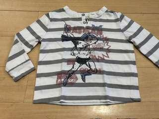 Babies Striped Long Sleeves 12 Months