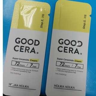 sample holika holika good cera super ceramide cream