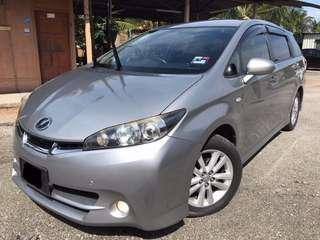 TOYOTA WISH 1.8 (A) NEW FACE LIFT