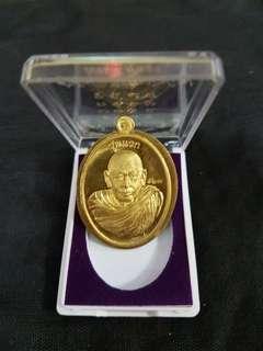 🚚 Thai amulet Lp pong rian roon Raek 2561