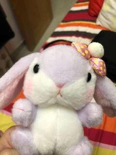 可愛兔公仔