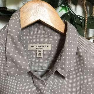 Sale! Burberry Long Sleeves Polo