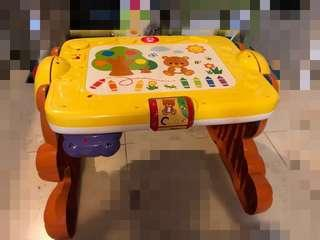 2 in 1 teddy activity table