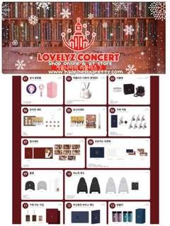 Lovelyz Fanmeeting Goods ( 預訂 )