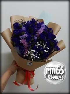 Flower Bouquet statice bouquet