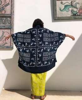 Blue Fabric 1m and half