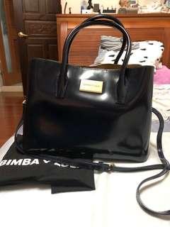 🚚 Bimba y Lola 真皮兩用包