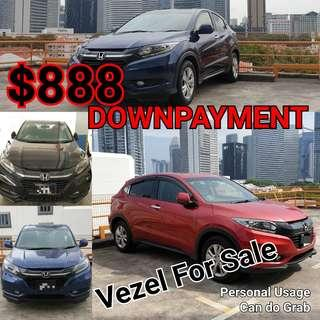 Full Loan. Zero Downpayment. Cars for Sales or Rental. Honda Vezel | Honda Vezel Hybrid