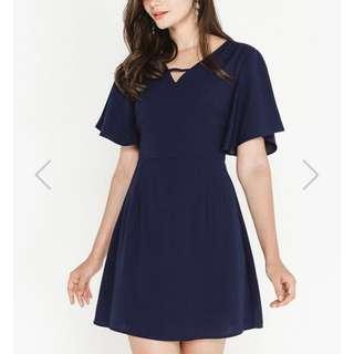 SSD Nichelle Dress Navy