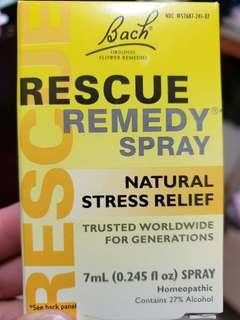 BACH Rescue Remedy Spray Natural Stress Relief 7ml