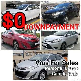 Toyota Axio. Rental or Sales. Full Loan. Zero Downpayment